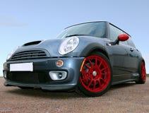 Kleine Britse Raceauto royalty-vrije stock afbeeldingen