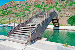 Kleine brug stock afbeeldingen