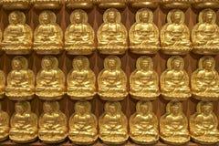 Kleine Buddha-Bilder Stockfoto