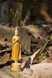 Kleine Buddha-Skulptur Stockbild