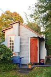 Kleine cabine royalty-vrije stock afbeelding