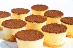 Kleine cacaocake Stock Fotografie
