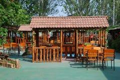 Kleine Cafeteria Stockbild