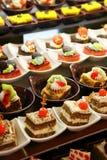 Kleine cakes Royalty-vrije Stock Afbeeldingen