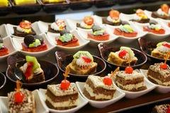 Kleine cakes Royalty-vrije Stock Fotografie