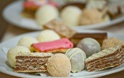 Kleine cakes Royalty-vrije Stock Afbeelding