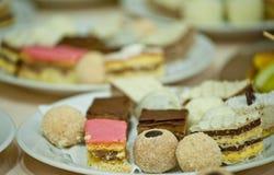 Kleine cakes Stock Afbeeldingen