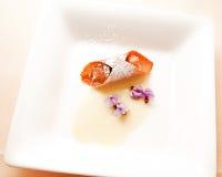 Kleine cannoliroom Royalty-vrije Stock Afbeeldingen