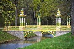 Kleine chinesische Brücke Stockbilder