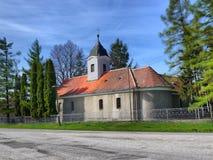 Kleine christliche Kirche Lizenzfreie Stockbilder