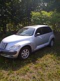 kleine Chrysler-argento groene luce stock foto