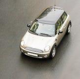 Kleine compacte auto van auto'sreeks stock foto