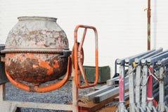 Kleine concrete mixer Royalty-vrije Stock Fotografie