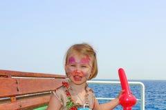 Kleine Dame Stockfoto
