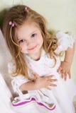 Kleine dame Royalty-vrije Stock Foto's