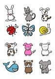 Kleine dieren Vector Illustratie