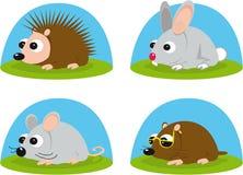 Kleine dieren Royalty-vrije Stock Afbeeldingen