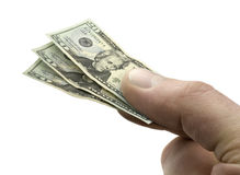 Kleine Dollar 20 factureert ter beschikking Stock Foto's
