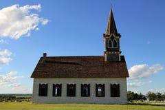 Kleine Dorfkirche Lizenzfreie Stockfotos