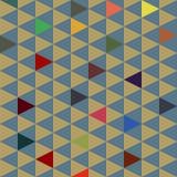 Kleine driehoeken Royalty-vrije Stock Afbeeldingen