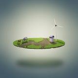Kleine ecowereld stock illustratie