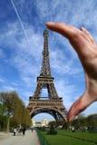 Kleine Eiffel towe Royalty-vrije Stock Foto