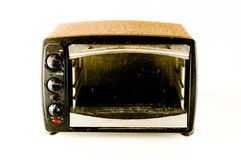 Kleine elektrische oven royalty-vrije stock afbeelding