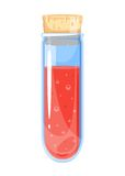 Kleine Elixier-Flasche Stockbilder