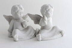 2 kleine Engel Lizenzfreies Stockbild