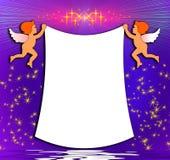 Kleine engelen stock illustratie