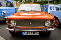 Kleine familieauto Zastava 1100 Skala, 1978 Royalty-vrije Stock Afbeelding