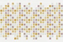 Kleine farbige dekorative Fliesen, Mosaik Stockfotografie