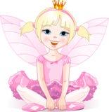 Kleine feenhafte Ballerina Lizenzfreies Stockfoto