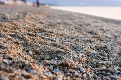 Kleine Felsen auf Rocky Beach Lizenzfreie Stockbilder