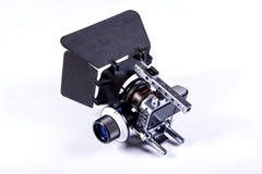 Kleine filmcamera Stock Afbeeldingen