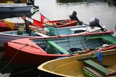 Kleine Fischerboote lizenzfreie stockfotos