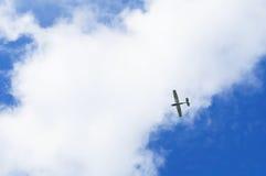 Kleine Fläche in einem großen Himmel Lizenzfreie Stockfotos
