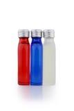 Kleine Flaschen Stockfotos
