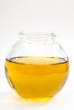 Kleine fles olijfolie Stock Foto