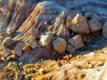 Kleine Flusssteine Lizenzfreies Stockfoto