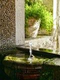 Kleine fontein Stock Afbeeldingen