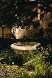 Kleine fontein Stock Afbeelding