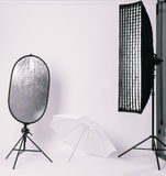 Kleine fotostudio Stock Afbeelding