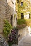 Kleine Franse straat royalty-vrije stock foto