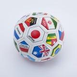 Kleine Fußballkugel stockbilder