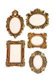 Kleine geïsoleerdeg frames Stock Afbeeldingen