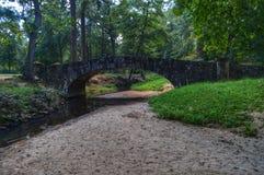 Kleine gehende Brücke Stockbild