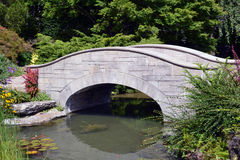 Kleine gehende Steinbrücke Lizenzfreie Stockfotografie