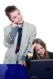 Kleine Geschäftsleute Lizenzfreies Stockfoto