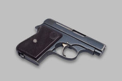 Kleine Gewehr auf Nullhintergrund Stockfotos